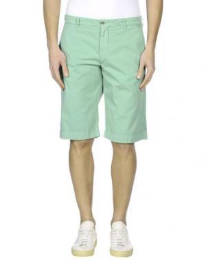 Бермуды 40WEFT. Цвет: зеленый