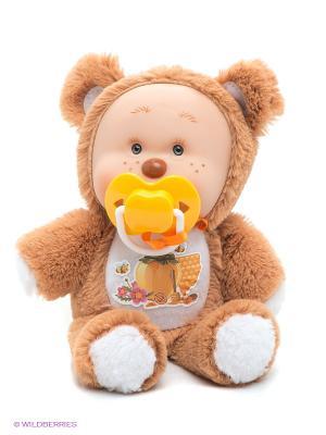 Игрушка Медвежонок Миша Yogurtinis. Цвет: коричневый, желтый