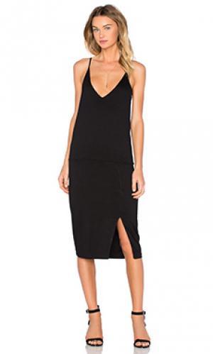 Обтягивающее платье jazzy Feel the Piece. Цвет: черный