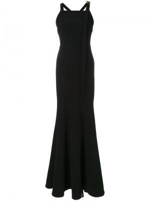 Вечернее платье Courtside Rebecca Vallance. Цвет: чёрный