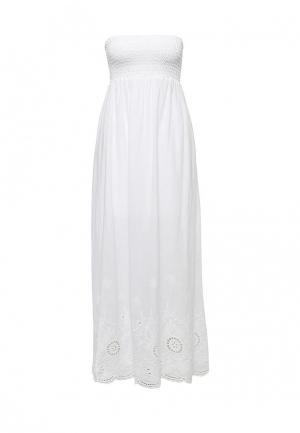 Платье Lovini. Цвет: белый