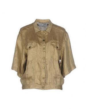 Куртка BRAND UNIQUE. Цвет: золотистый