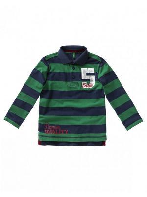 Рубашка United Colors of Benetton. Цвет: зеленый