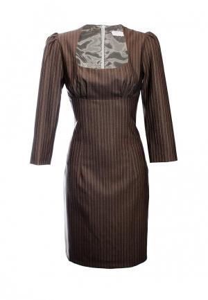 Платье Maria Rybalchenko. Цвет: коричневый