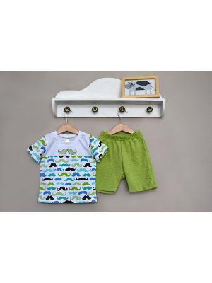 Комплект одежды Baby Boom. Цвет: зеленый
