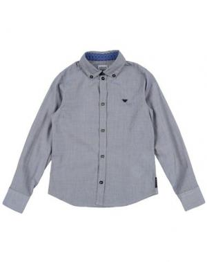 Pубашка ARMANI JUNIOR. Цвет: серый