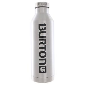 Бутылка для воды  Burton V8 Lock Up Stainless Black Print Mizu. Цвет: серый