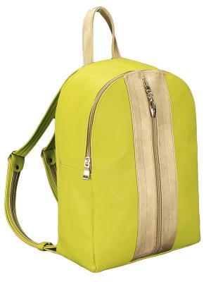 Рюкзак ViTa-ART. Цвет: салатовый, золотистый