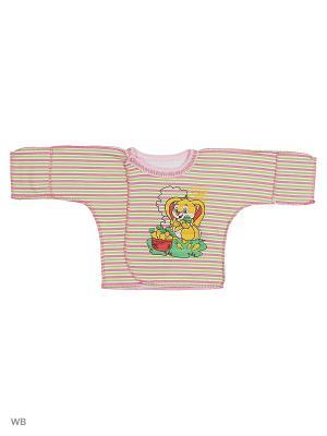Распашонки Babycollection. Цвет: салатовый, розовый