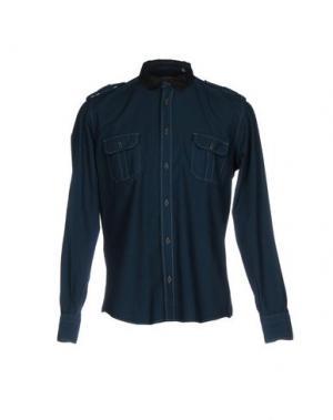 Pубашка JEY COLE MAN. Цвет: цвет морской волны