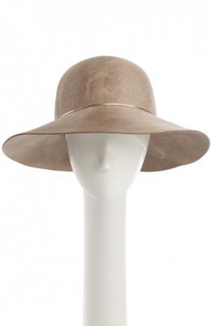 Шляпа Eugenia Kim. Цвет: бежевый