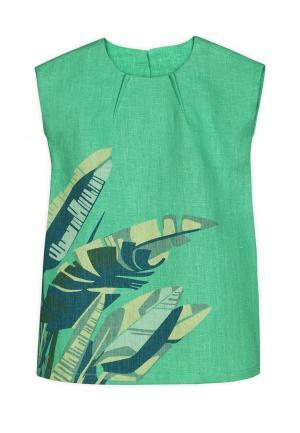 Платье Ёмаё. Цвет: зеленый