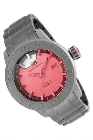 Watch TechnoMarine. Цвет: silver, red