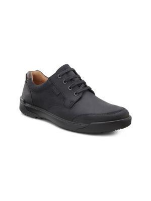 Ботинки ECCO. Цвет: черный, темно-коричневый