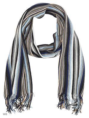 Шарф VICENTE. Цвет: серый, темно-серый, голубой, бежевый, белый