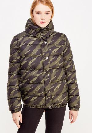 Куртка утепленная Grishko. Цвет: зеленый