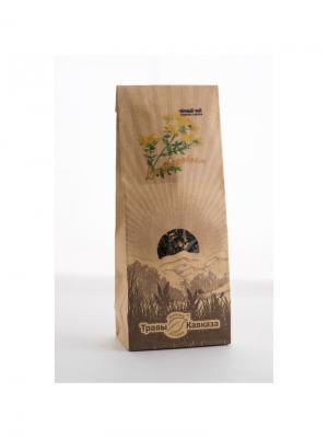 Чай черный со зверобоем Травы Кавказа. Цвет: бежевый