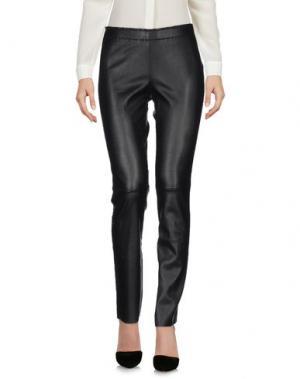 Повседневные брюки STOULS. Цвет: черный