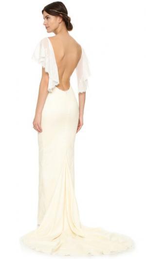 Вечернее платье Vienna Katie May. Цвет: шампанское