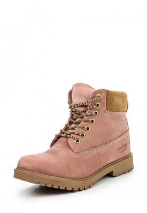Ботинки Coolway. Цвет: розовый