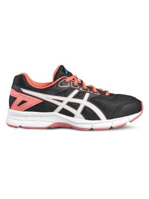 Кроссовки GEL-GALAXY 9 GS ASICS. Цвет: черный, белый, розовый