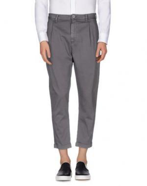 Повседневные брюки CHOICE NICOLA PELINGA. Цвет: серый