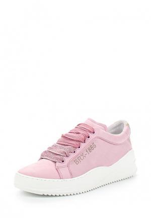 Кеды Bronx. Цвет: розовый