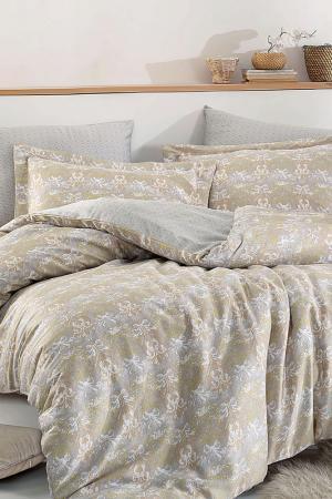 Комплект постельного белья Marie claire. Цвет: grey, beige, white