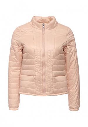 Куртка утепленная Vero Moda. Цвет: розовый