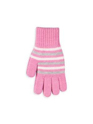 Перчатки Веселый ветер. Цвет: розовый