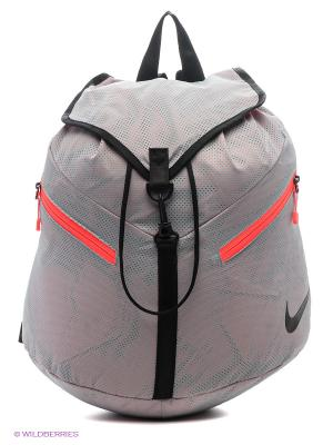 Рюкзак NIKE AZEDA BACKPACK. Цвет: серый, красный