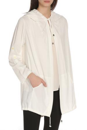 Куртка-бомбер BGN. Цвет: белый