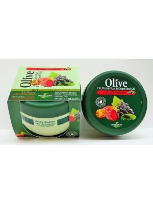Герболив масло для тела с опунцией и экстрактом виноградных косточек, 250мл Madis S.A.. Цвет: оливковый
