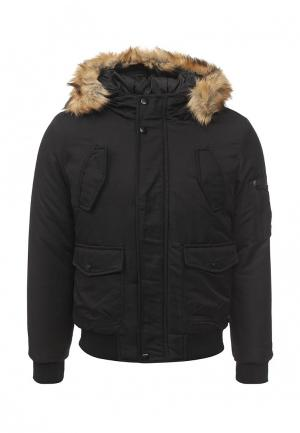 Куртка утепленная Aarhon. Цвет: черный