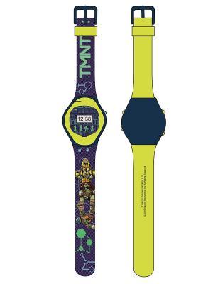 Часы наручные электронные TMNT (Черепашки-Ниндзя). Цвет: черный, зеленый, салатовый