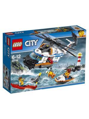 City Coast Guard Сверхмощный спасательный вертолёт 60166 LEGO. Цвет: синий