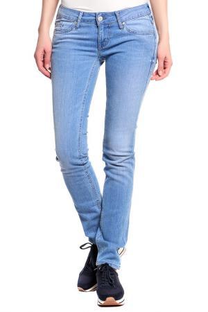 Брюки джинсовые Mustang. Цвет: голубой