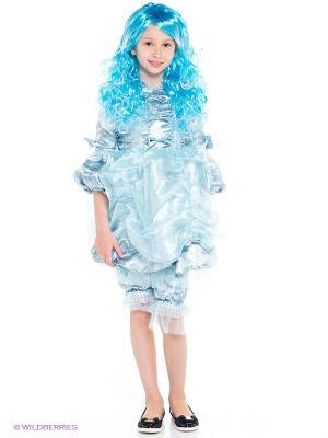 Карнавальный костюм Мальвина Батик. Цвет: голубой