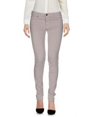 Повседневные брюки GENETIC DENIM. Цвет: светло-серый