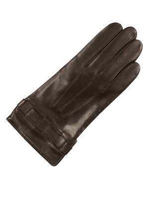 Перчатки ESMEE. Цвет: темно-коричневый, коричневый