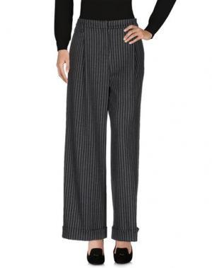 Повседневные брюки TENAX. Цвет: стальной серый