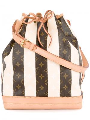 Монограммная сумка на плечо Noe Louis Vuitton Vintage. Цвет: белый