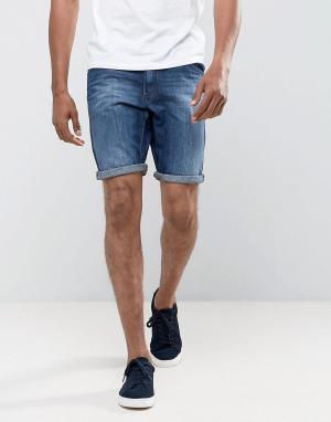 Tom Tailor Джинсовые шорты. Цвет: синий