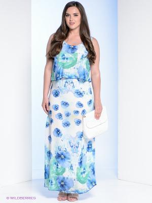 Сарафан Milana Style. Цвет: голубой