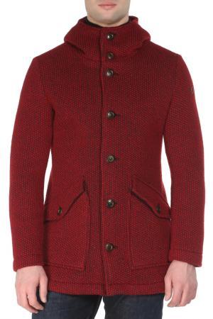 Пальто UP TO BE. Цвет: красный