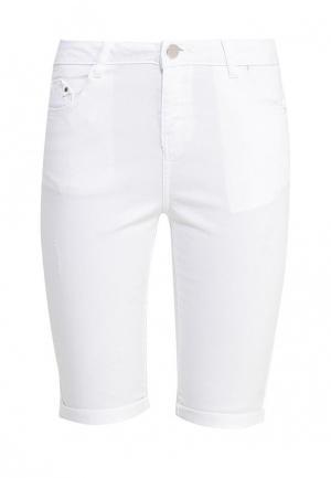 Шорты джинсовые Dorothy Perkins. Цвет: белый