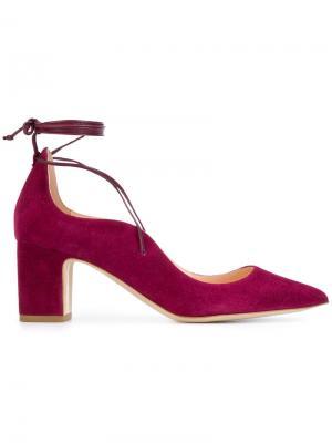 Туфли-лодочки Poet Rupert Sanderson. Цвет: розовый и фиолетовый
