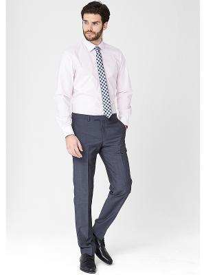 Рубашка S.OLIVER. Цвет: бледно-розовый, белый, светло-серый