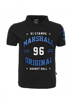 Поло Marshall Original. Цвет: черный