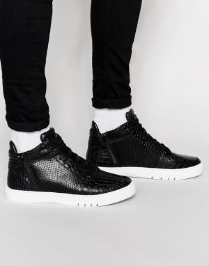 Creative Recreation Высокие кроссовки Adonis. Цвет: черный